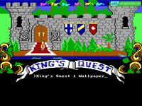 King's Quest 1 the Wallpaper Wallpaper